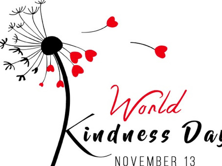 Mark Your Calendars! World Kindness Day is Nov. 13th
