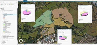 Land and habitat mapping and natural capital accounts