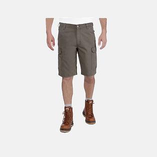 Carhartt Workwear 103542 Rigby Stretch Cargo Shorts in tarmac grün