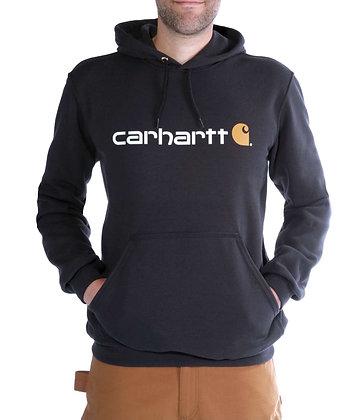 Carhartt Signature Logo Hoodie schwarz