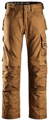 Snickers Workwear 3314 Handwerkerhose Canvas+ in braun