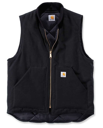 Carhartt Workwear V01 Duck Arctic Vest Arbeitsweste in schwarz