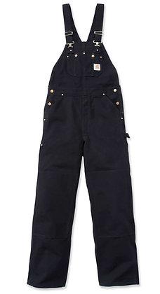 Carhartt Workwear R01 Duck Bib Latzhose in der Farbe schwarz