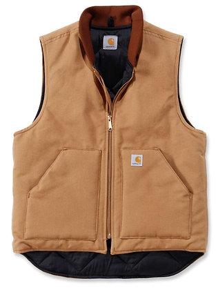 Carhartt Workwear V01 Duck Arctic Vest Arbeitsweste in carhartt braun