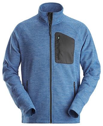 Snickers Workwear 8042 FlexiWork Fleece Arbeitsjacke in blau