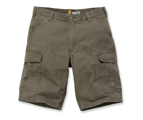 Carhartt Workwear 103542 Rigby Rugged Cargo Shorts in grün tarmac
