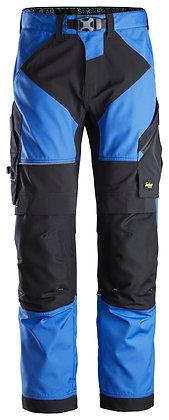 Snickers Workwear 6903 FlexiWork Arbeitshose+ in der Farbe blau