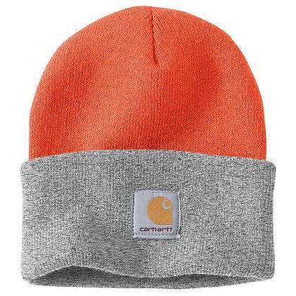 Carhartt Watch Hat Beanie orange grau