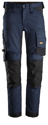 Snickers 6341 AllroundWork Stretch Arbeitshose in der Farbe navy blau