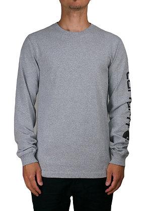 Carhartt Workwear EK231 Signature Sleeve Logo Longsleeve in grau