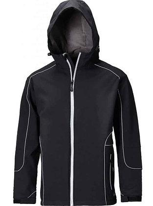 Dickies Workwear JW7050 Harlington Softshelljacke mit Kapuze in schwarz
