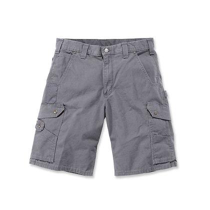 Carhartt Workwear B357 Ripstop Cargo Work Shorts in grau