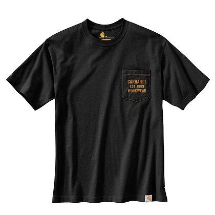 Carhartt Workwear 104363 Graphic T-Shirt in schwarz