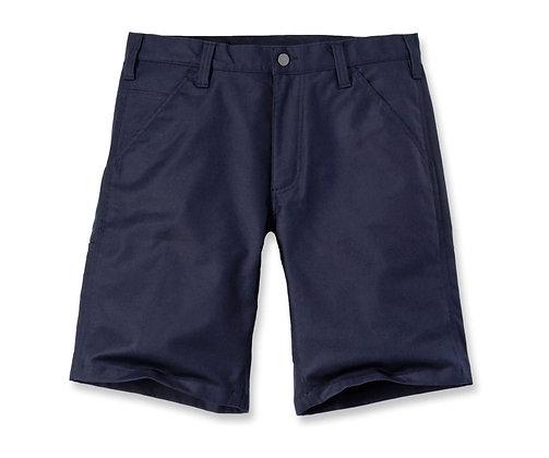 Carhartt Workwear 103111 Rugged Professional Series Stretch Bermuda Shorts in navy blau