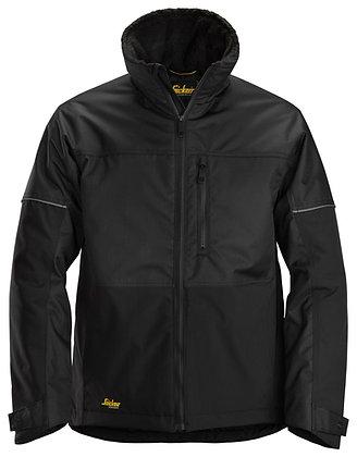 Snickers Workwear 1148 AllroundWork Winter Arbeitsjacke in der Farbe schwarz
