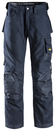 Snickers Workwear 3314 Handwerkerhose Canvas+ in dunkelblau navy