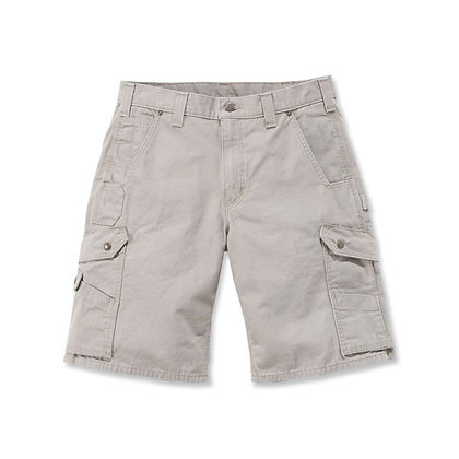 Carhartt Workwear B357 Ripstop Cargo Work Shorts in beige desert