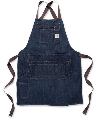 Carhartt Workwear 103197 Denim Apron Schürze Grillschürze in Jeanslook Jeansschürze in blau