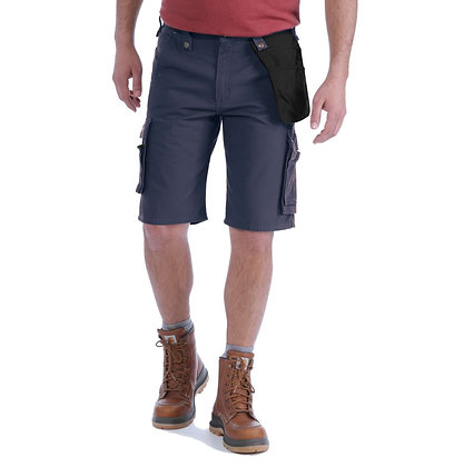 Carhartt Workwear 102361 Multi Pocket Ripstop Shorts in navy blau