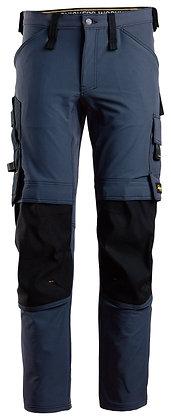 Snickers Workwear 6371 Full Stretch Arbeitshose in navy blau