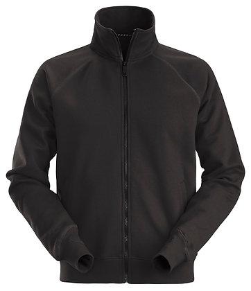 Snickers Workwear 2886 Sweatshirt Arbeitsjacke mit Reißverschluss in schwarz