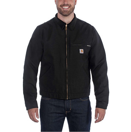Carhartt Workwear 103828 Duck Detroit Jacket EJ001 in schwarz