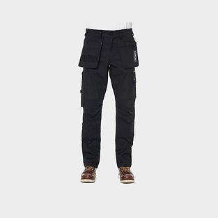 De Palma Workwear Boss Pant Arbeitshose mit Holstertaschen in schwarz