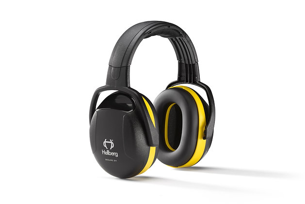 Hellberg 41002 Secure 2 Gehörschutz Kopfhörer PSA persönliche Schutzausrüstung in gelb