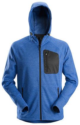 Snickers Workwear 8041 FlexiWork Fleece Hoodie in blau