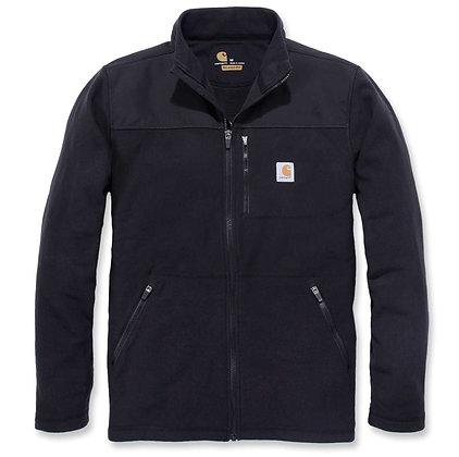 Carhartt Workwear 102838 Fallon Full-Zip Sweatshirt Fleecejacke in schwarz