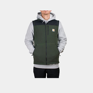 Carhartt Workwear Fallon Fleece Weste in moos grün