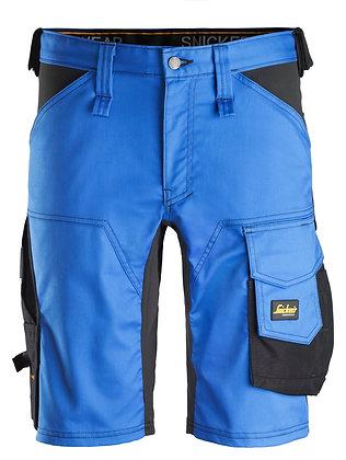 Snickers Workwear 6143 AllroundWork Stretch Shorts in blau