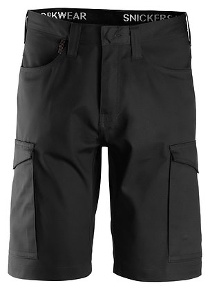 Snickers Workwear 6100 Service Arbeitsshorts in schwarz