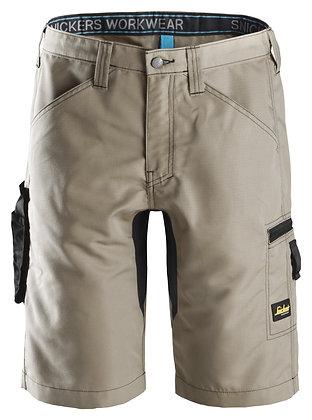 Snickers Workwear 6102 LiteWork 37.5® Arbeitsshorts in khaki braun