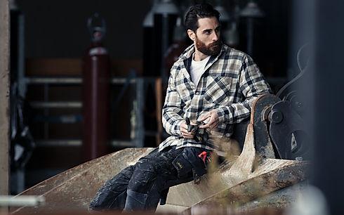 Moderne Arbeitskleidung von Snickers, De Palma und Carhartt Workwear günstig online kaufen.