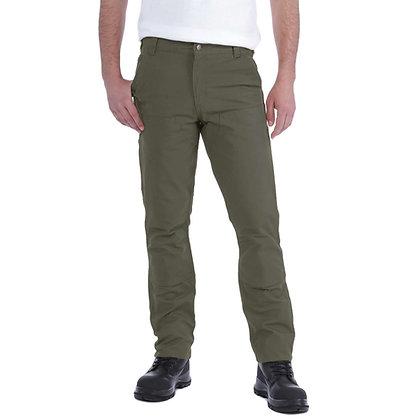 Carhartt Workwear 103340 Stretch Duck Double Front Arbeitshose tarmac grün