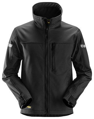 Snickers Workwear 1200 AllroundWork Softshelljacke in schwarz