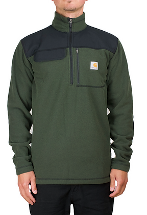 Carhartt Workwear 102836 Fallon Half Zip Fleecejacke in der Farbe grün