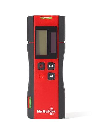 Hultafors 409091 Empfänger für Kreuzlinienlaser rot