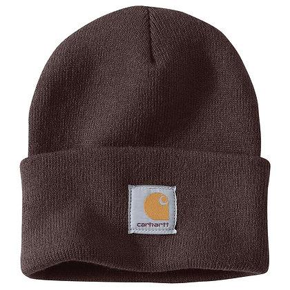 Carhartt Workwear A18 Wintermütze Beanie Watch Hat in dunkelbraun