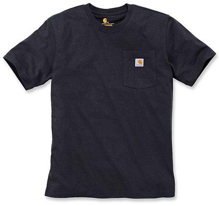 Carhartt Workwear 103296 K87 Pocket T-Shirt in schwarz
