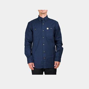 Carhartt Workwear Lightweight Rigby Arbeitshemd navy blau