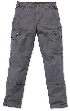 Carhartt Workwear B342 Ripstop Cargo Work Trousers Arbeitshose in grau gravel