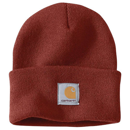 Carhartt Workwear Watch Hat Beanie A18 in Iron Ore rot
