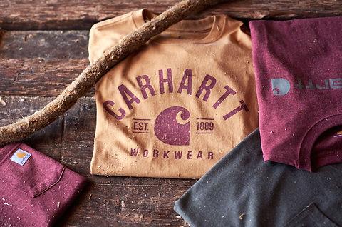 Coole und moderne T-Shirts von Carhartt und De Palma Workwear in Deutschland kaufen