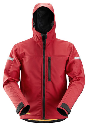 Snickers Workwear 1229 AllroundWork Softshell Arbeitsjacke in rot