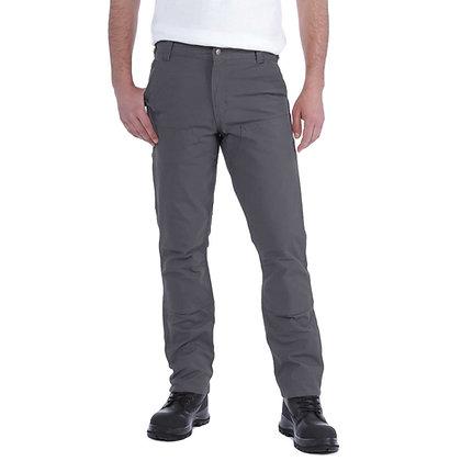 Carhartt Workwear 103340 Stretch Duck Double Front Trousers  grau