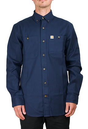 Carhartt Workwear 103554 Lightweight Rigby Arbeitshemd in navy blau