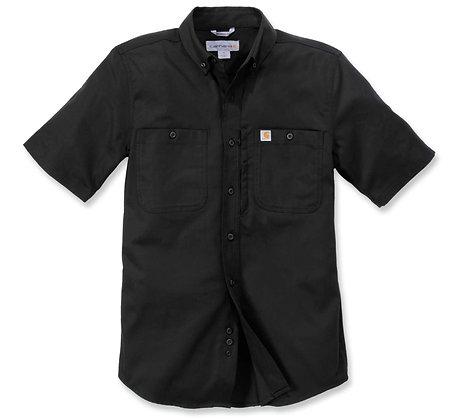 Carhartt Workwear 102537 Rugged Professional Arbeitshemd mit kurzen Ärmeln in schwarz