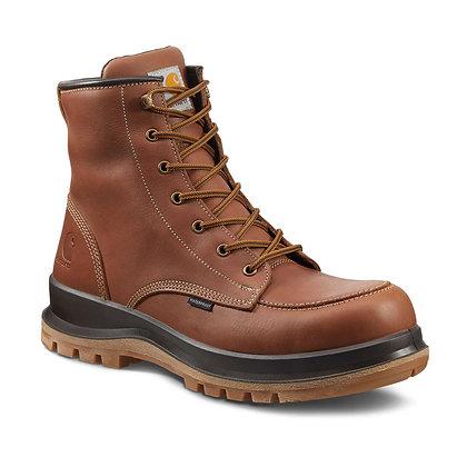 Carhartt Workwear F702915 Hamilton Rugged Flex® S3 Sicherheitsstiefel Arbeitsschuhe aus Leder in braun